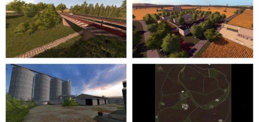 Мод карта AGRO GORALE V1.0.0.1 Farming Simulator 2017