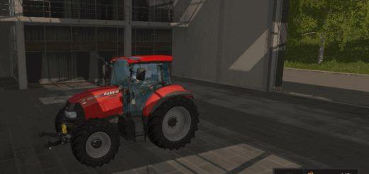 Мод трактор Case Farmall 105 U v1.1 Farming Simulator 17