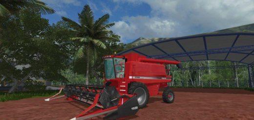 Мод ПАК комбайн CASE IH 2388 V1.0.0.0 Farming Simulator 2017