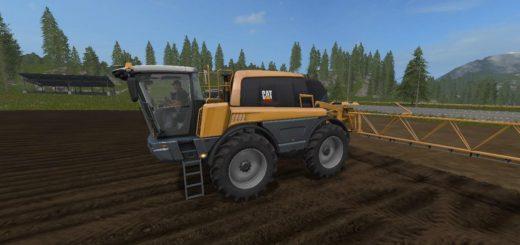 Мод опрыскиватель CAT RG635C V1.1 Farming Simulator 17
