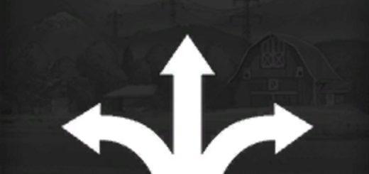 Мод курсплей Courseplay 5.02.00040 Фарминг Симулятор 2017