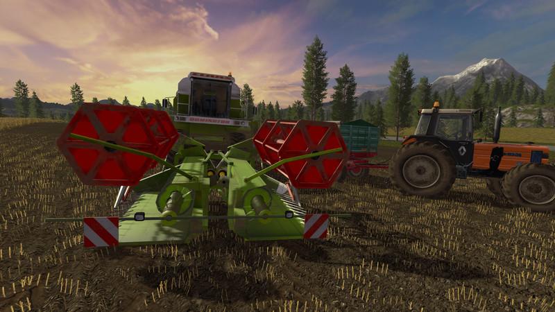Мод жатка CLAAS C540 FOLDING CUTTER V1.1 Farming Simulator 2017
