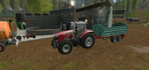 Мод DIGESTATE PROCESSOR V1.0 Farming Simulator 17