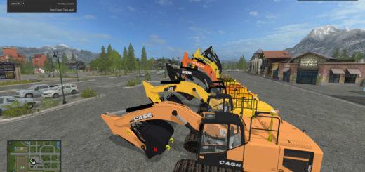 Мод ПАК экскаваторов EC300 Excavator MULTI Brand Pack FS17