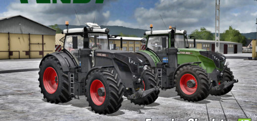 Мод трактор Fendt 1050 V1.5 Farming Simulator 2017