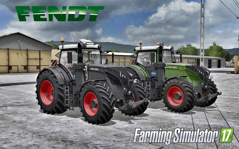 Мод трактор Fendt 1050 V1.5 Farming Simulator 2017
