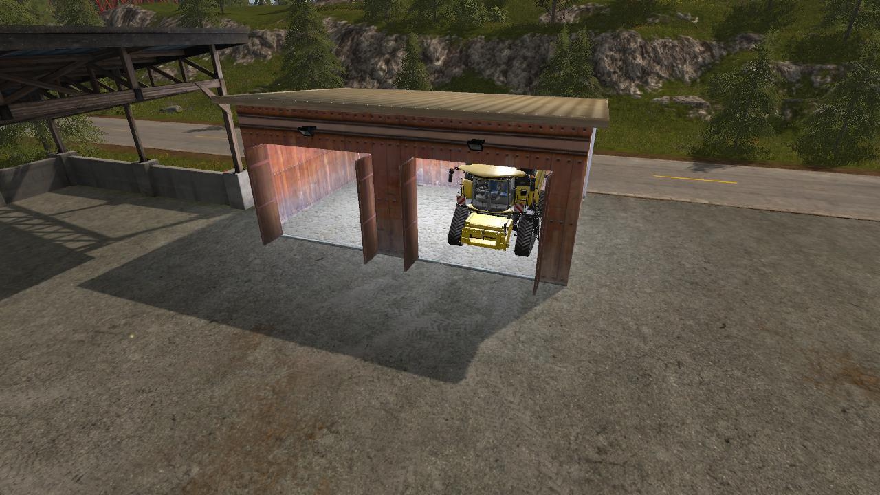 Мод гараж GARAGE V1.1.3.0 FS17