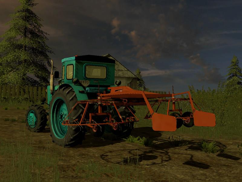 Мод грабли ГН 4.5 v1.0 Фермер Симулятор 2017