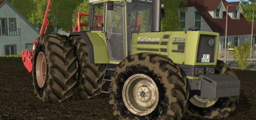 Мод трактор HUERLIMANN H6170T V1.1.0.0 Farming Simulator 2017