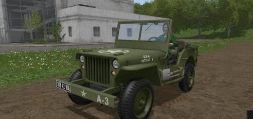 Мод авто WILLYS V1.1 Farming Simulator 2017