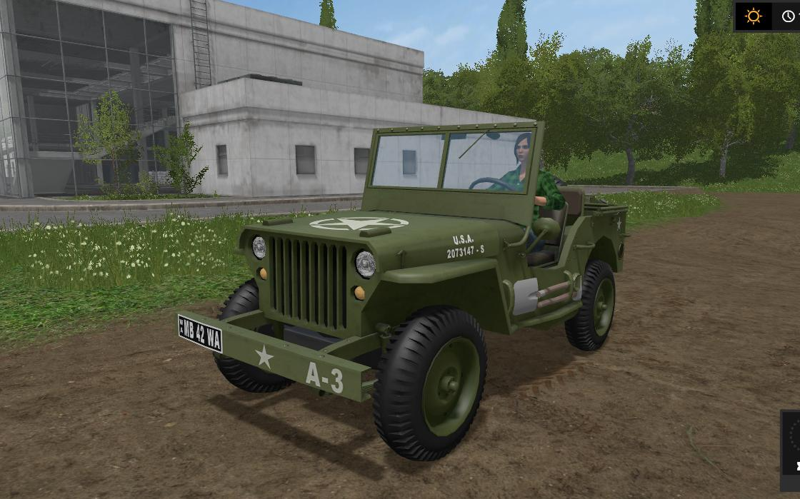 Мод авто WILLYS V1.1 Farming Simulator 2017