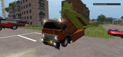 Мод грузовик КамАЗ 53212 v1.0 Фарминг Симулятор 2017