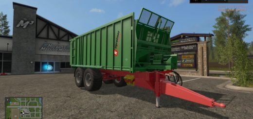 Мод прицеп KROGER TAW 20-DH V1.1 Farming Simulator 17