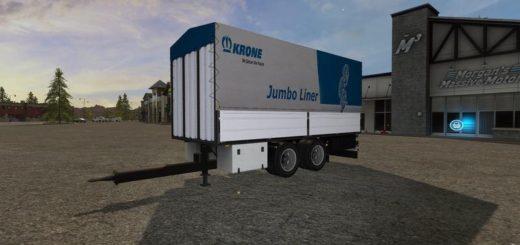 Мод прицеп KRONE ADP ALS TANDEM V1.1 Farming Simulator 2017