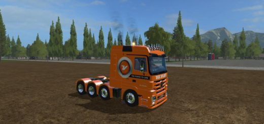 Мод тягач MB VAN DER VLIST V1.0 Farming Simulator 17