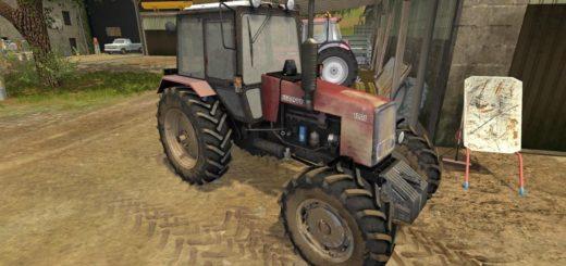 Мод трактор МТЗ MTZ 1221 BELARUS V1.0.0.0 Фарминг Симулятор 2017