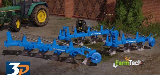 Мод ПАК плугов OVERUM PACK V2.0 Farming Simulator 17