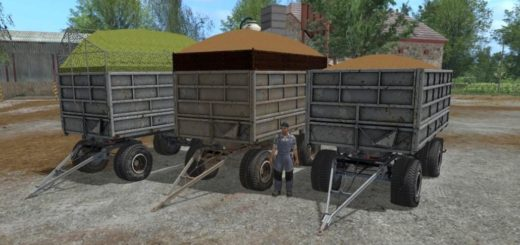 Мод прицеп PANAV BSS PS2 17.13 FS17 V1.0 Farming Simulator 2017