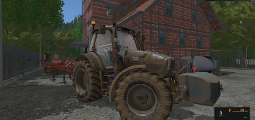 Мод трактор SAME FORTIS 140-240 MORE REALISTIC V1.2 FS17