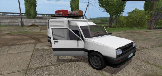Мод авто Renault_Express v1.0 Farming Simulator 17