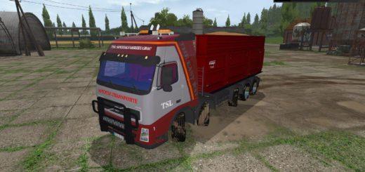 Мод грузовик VOLVO FH12 KIPPER V1.0 Farming Simulator 2017