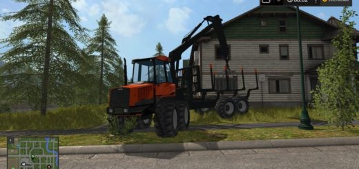 Мод VALMET 840 FORWARDER V1.0 Farming Simulator 2017