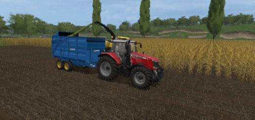 Мод прицеп WEST 10T SILAGE TRAILER V1.1.0.0 Farming Simulator 17