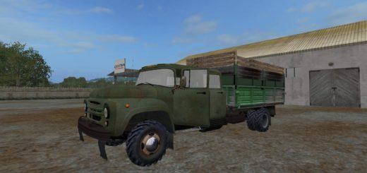 Мод грузовик ЗиЛ-130Г v1.0 Фарминг Симулятор 2017