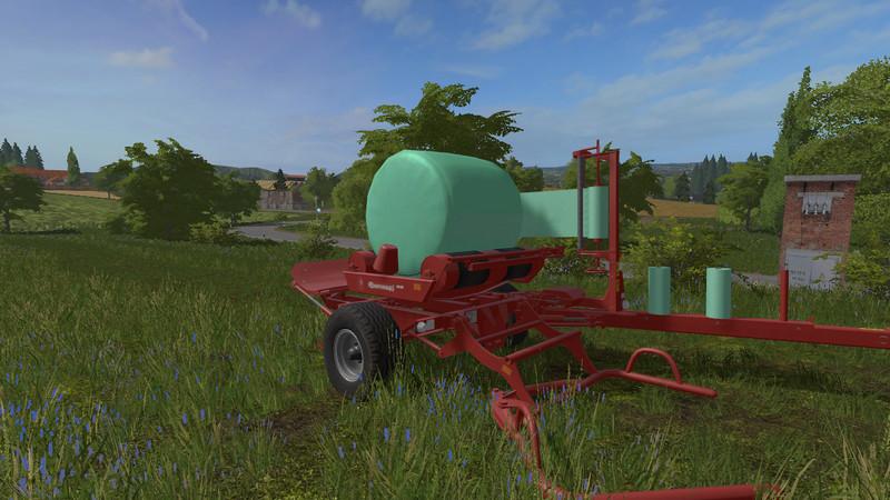 Мод обмотчик тюков ENOROSSI BW 300 V1.1 Farming Simulator 17