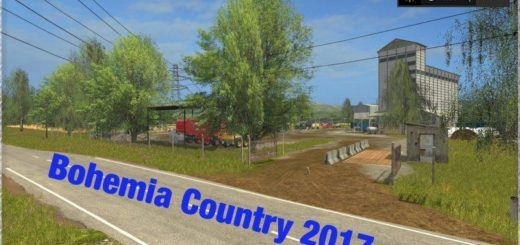 Мод карта BOHEMIA COUNTRY 2017 V2.0 Farming Simulator 2017