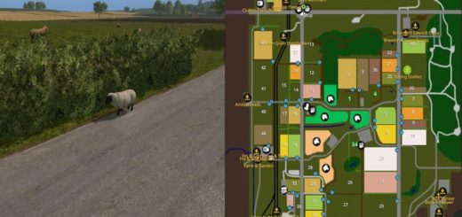 Мод карта BROXTON MAP V4.0.0.0 FS17