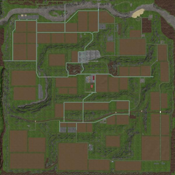 Мод карта HAGENSTEDT EXTREME V1.0 Farming Simulator 2017