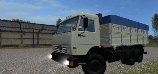 Мод грузовик КамАЗ 45143 BY SHOKER Фермер Симулятор 2017