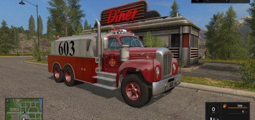 Мод грузовик MACK B61 TANKER V1.0 FS17