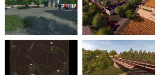 Мод карта AGRO GORALE V1.0.0.1 Farming Simulator 17