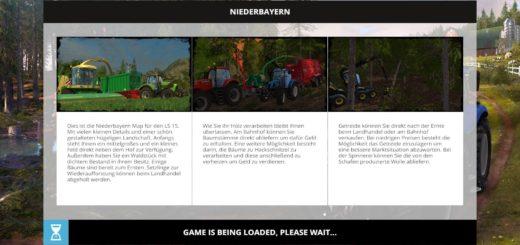 Мод карта Niederbayern v 1.0 Farming Simulator 2017