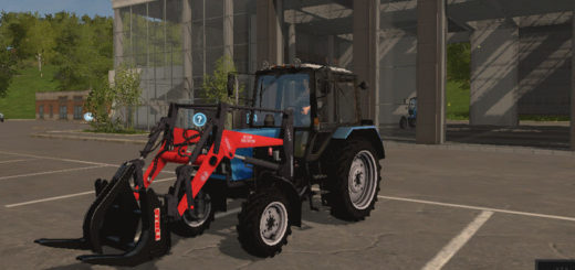 Мод трактор Беларус PKU HARVEST V2.0 Фермер Симулятор 2017