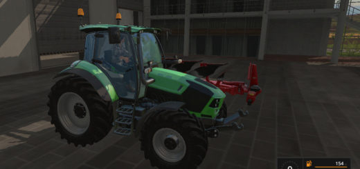 Мод трактор Deutz 5120 TTV v1.1 Farming Simulator 17