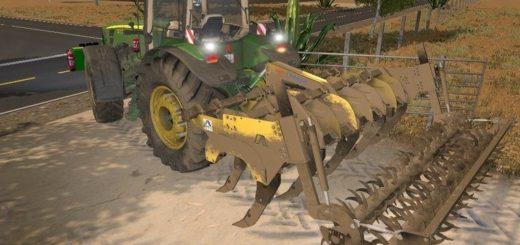 Мод культиватор Alpego Super Craker KF9 400 v1.0 Farming Simulator 17