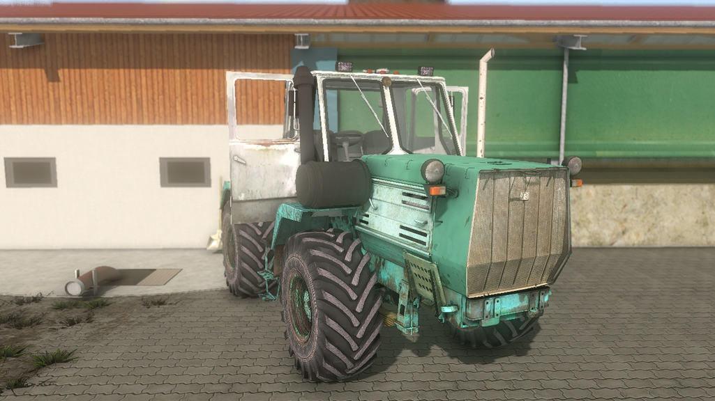 Мод трактор ХТЗ T 150K v 1.5 Фарминг Симулятор 2017