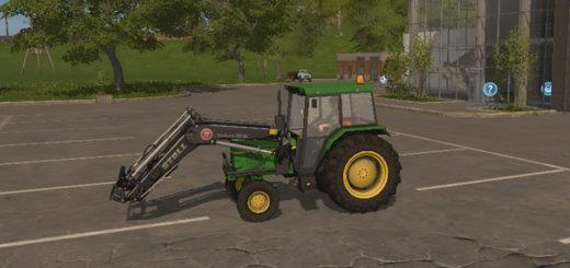 Мод трактор John Deere 1630 v1.0 Farming Simulator 2017