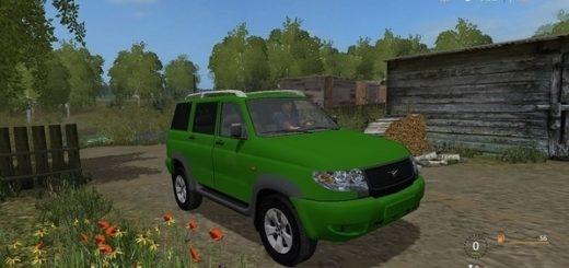 Мод авто УАЗ 3163 Патриот Фермер Симулятор 2017