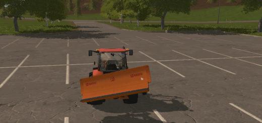 Мод отвал PLOW V1.0 Farming Simulator 17