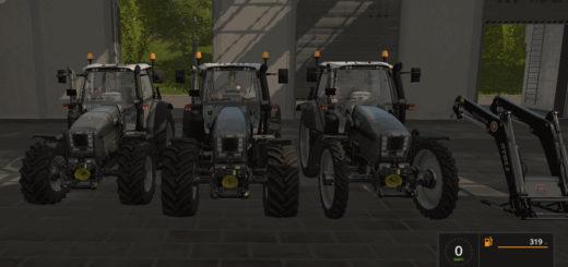 Мод трактор SAME FORTIS V1.0.0 Farming Simulator 2017