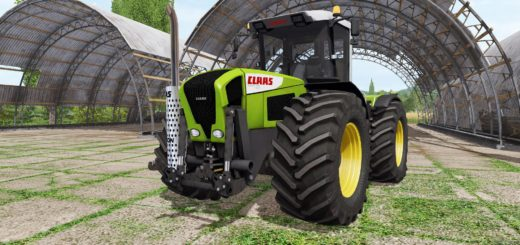 Мод ПАК тракторов CLAAS XERION 3300 TRAC VC V1.1.0 Farming Simulator 17