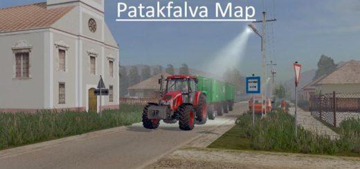 Мод карта PATAKFALVA MAP V1.0 Farming Simulator 17