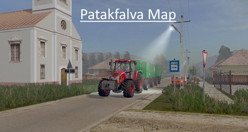 Мод карта PATAKFALVA MAP V1.0 Farming Simulator 17