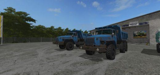 Мод грузовик УРАЛ 1979 Ural 4320 Dump Truck V1.1 Фермер Симулятор 2017