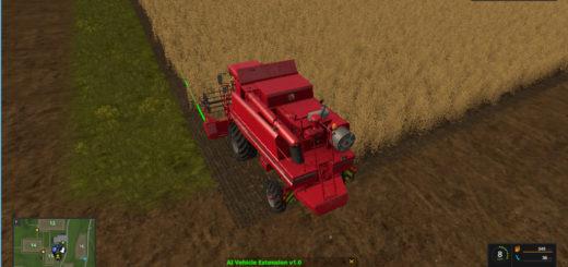 Мод скрипт AI Vehicle Extension v1.1 Farming Simulator 17
