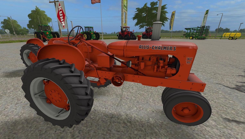 Мод трактор ALLIS CHALMERS WD45 V1.0 Farming Simulator 17